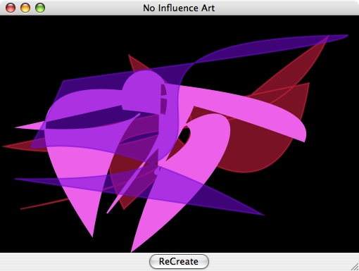 Screenshot 1 for noinfluenceArt