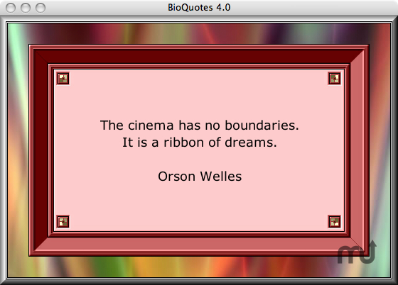 Screenshot 1 for BioQuotes