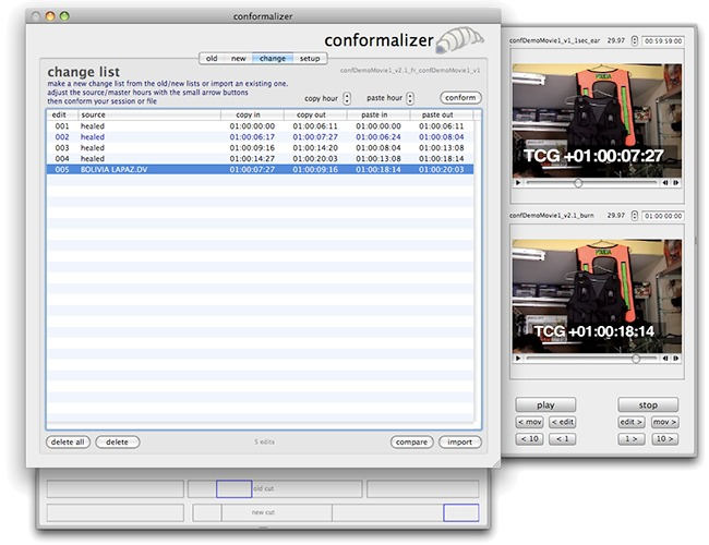 Screenshot 1 for conformalizer