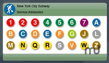Screenshot 1 for New York City Subway Advisor