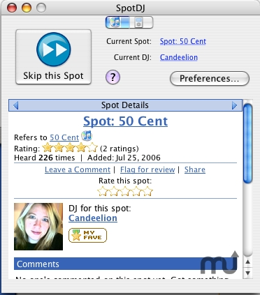 Screenshot 1 for SpotDJ