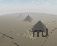 Screenshot 1 for Pyramids of Egypt 3D Screensaver