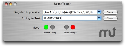 Screenshot 1 for RegexTester