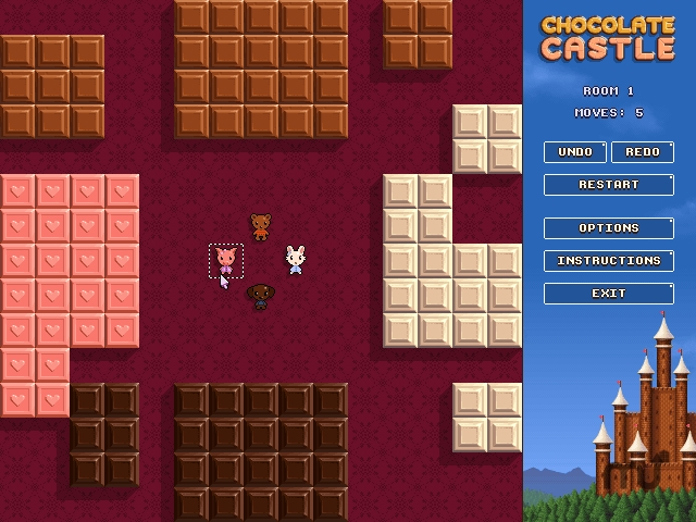 Screenshot 1 for Chocolate Castle