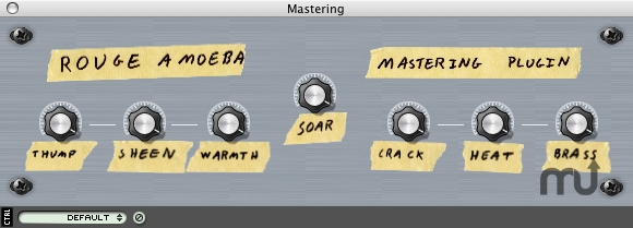 Screenshot 1 for Rogue Amoeba Mastering Plugin