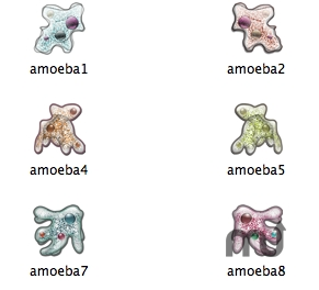 Screenshot 1 for Amoebae Icons
