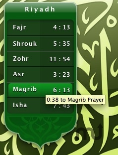 Screenshot 1 for Prayer Times