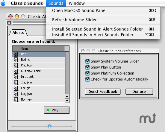 Screenshot 1 for Classic Sounds