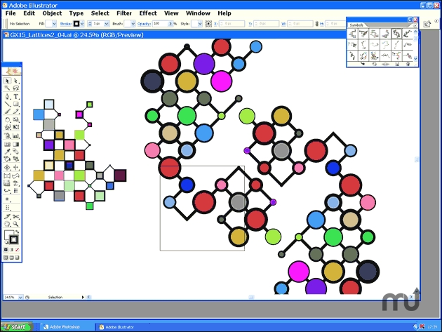 Screenshot 1 for Symbols Pack 15: Lattices2