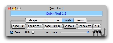 Screenshot 1 for QuickFind