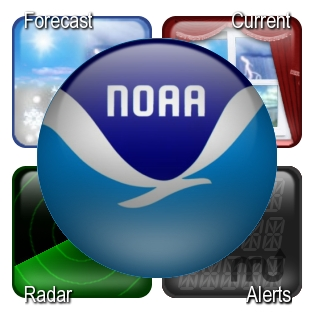Screenshot 1 for NOAA Weather Center