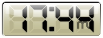 Screenshot 1 for Big Digital Clock