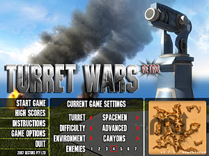 Screenshot 1 for Turret Wars Retro