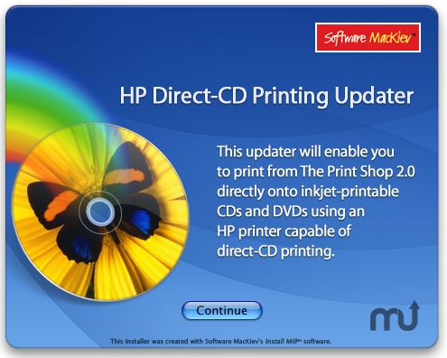 Screenshot 1 for HP Direct-CD Printing