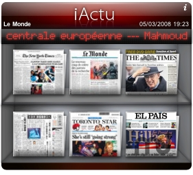 Screenshot 1 for iActu