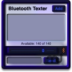 Screenshot 1 for Bluetooth Texter