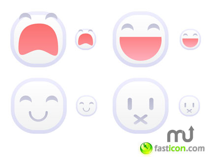 Screenshot 1 for White Emoticons