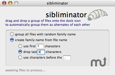 Screenshot 1 for sibliminator