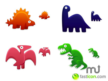 Screenshot 1 for Dinosaurs Toys Icons