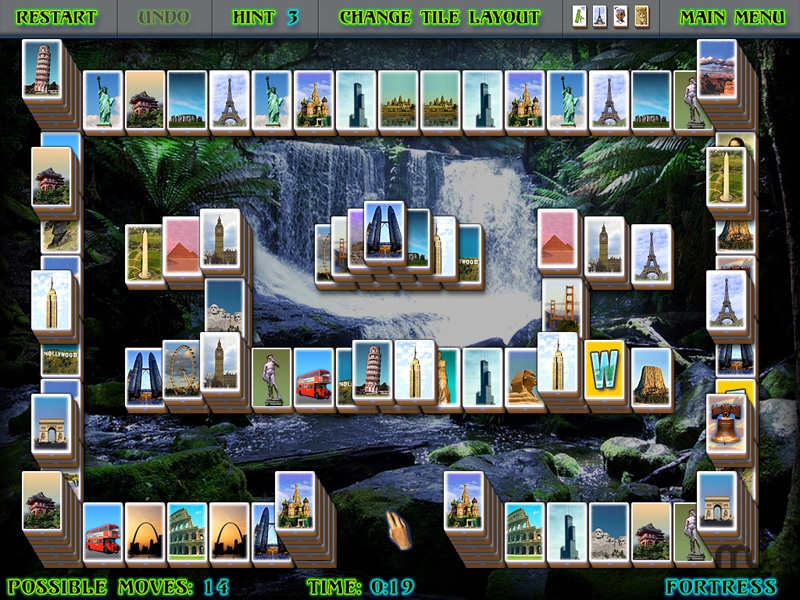 Screenshot 1 for Mystical Mahjong