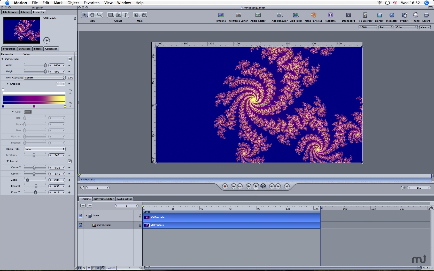 Screenshot 1 for VMFractals