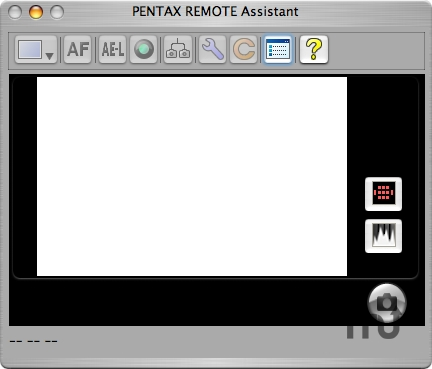 Screenshot 1 for Pentax Remote Assistant