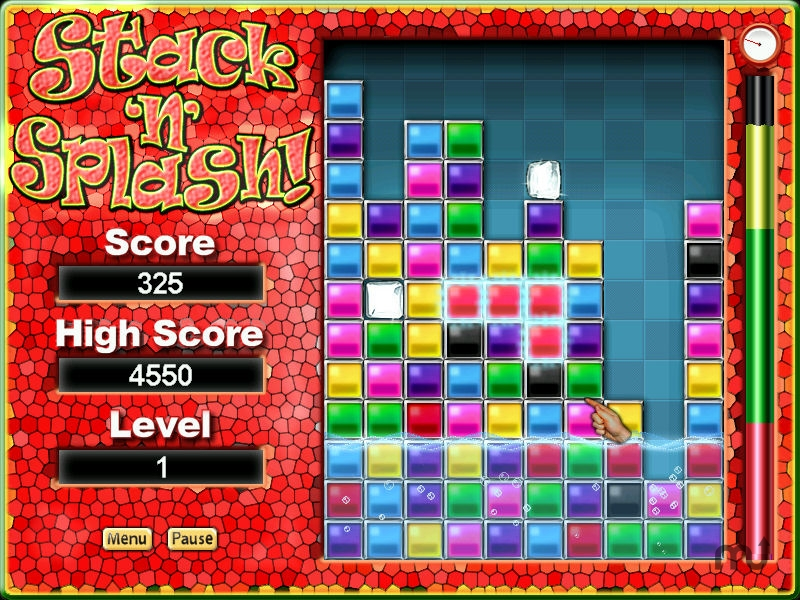 Screenshot 1 for Stack'n'Splash