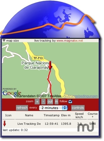 Screenshot 1 for Live GPS Tracking Widget