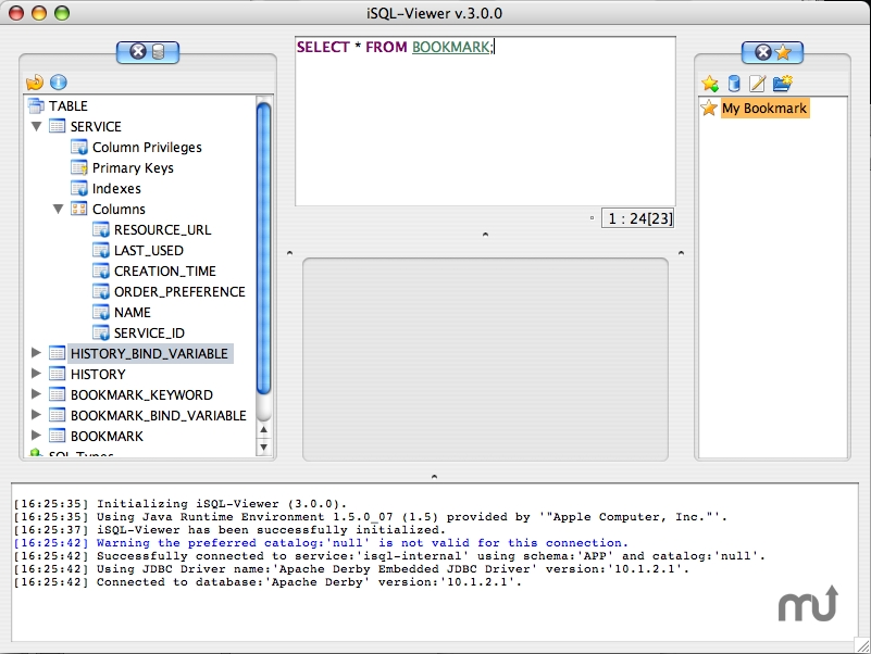 Screenshot 1 for iSQL-Viewer