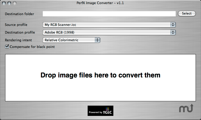 Screenshot 1 for PerfX Image Converter