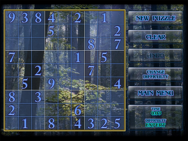 Screenshot 1 for Mystical Sudoku