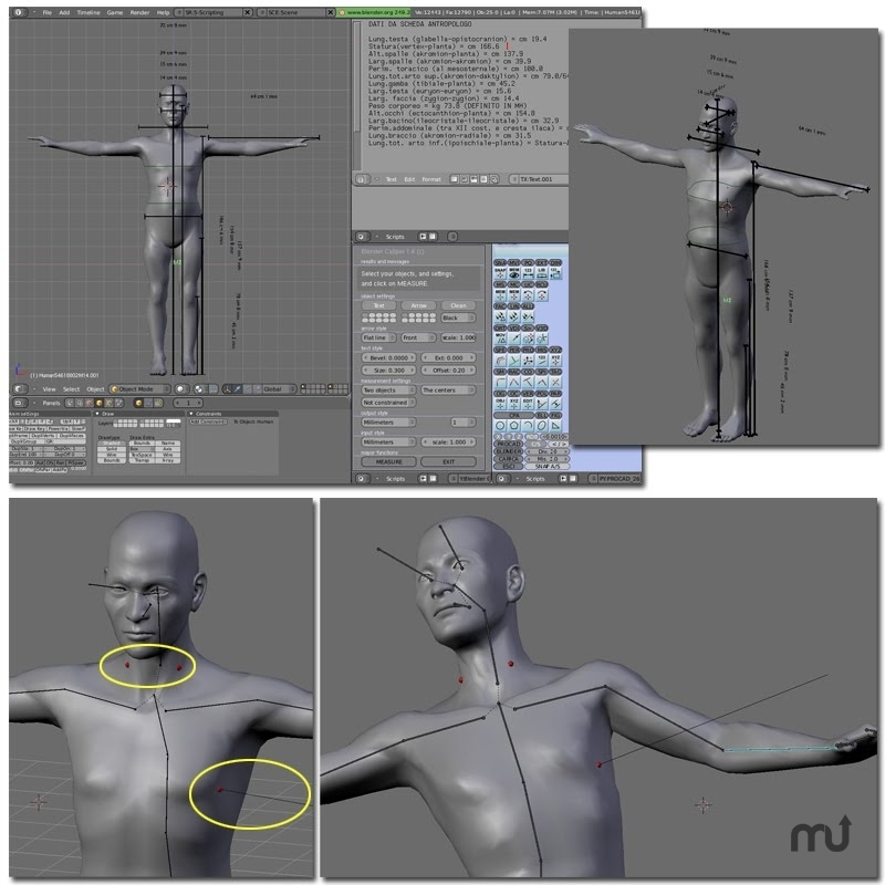 Screenshot 1 for MakeHuman