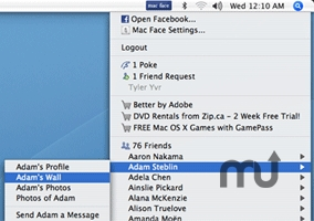 Screenshot 1 for Mac Face