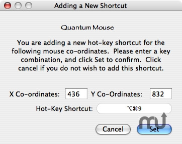 Screenshot 1 for Quantum Mouse