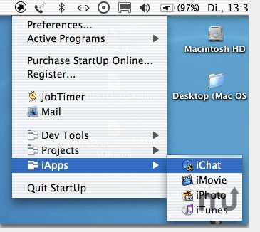 Screenshot 1 for StartUp