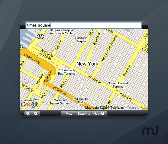 Screenshot 1 for gMap
