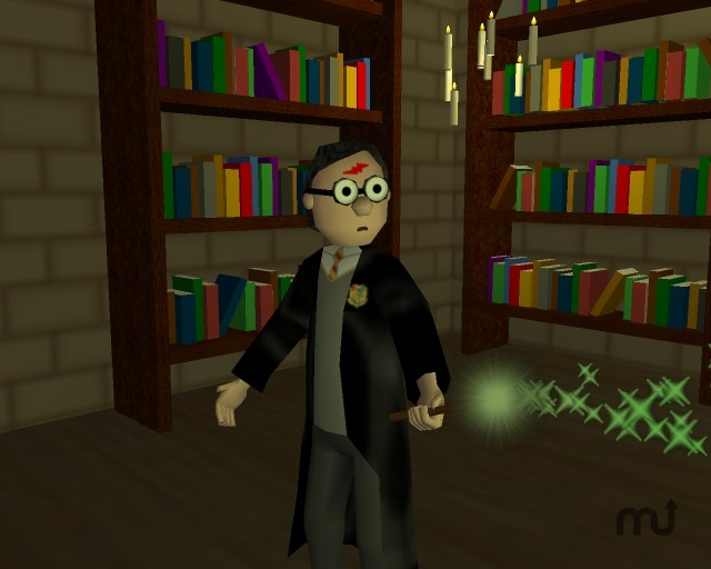 Screenshot 1 for Harry Potter 3D Slideshow Screensaver
