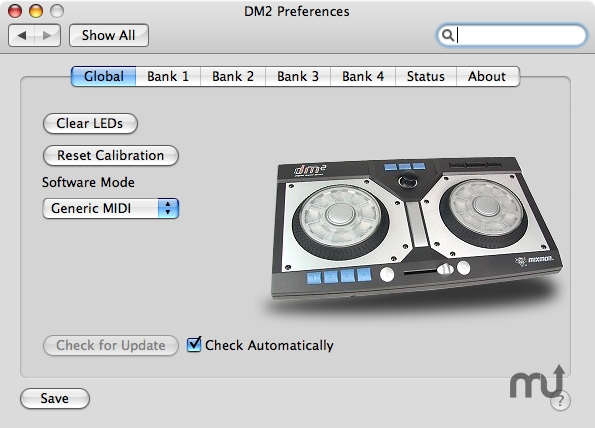 Screenshot 1 for MixMan DM2 MIDI Driver