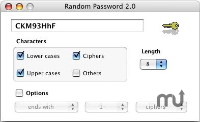 Screenshot 1 for RandomPassword