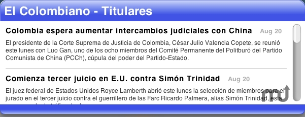 Screenshot 1 for El Colombiano Headlines