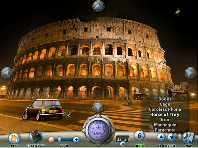 Screenshot 1 for Rome: Curse of the Necklace