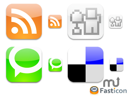 Screenshot 1 for Social Bookmark Icons
