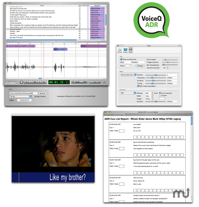 Screenshot 1 for VoiceQ ADR