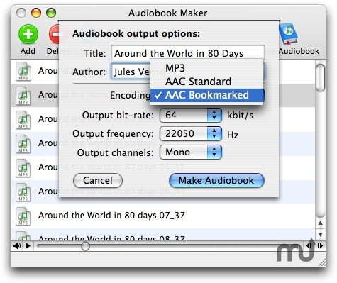 Screenshot 1 for Audiobook Maker