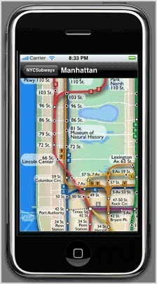 Screenshot 1 for NYC Subway Maps