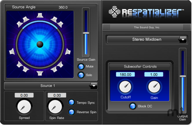 Screenshot 1 for ReSpatializer