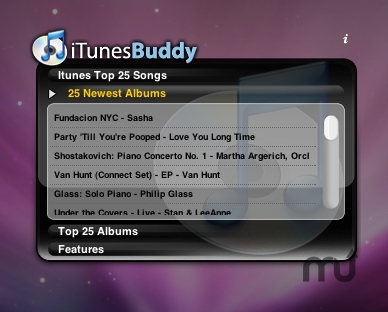 Screenshot 1 for iTunes Buddy