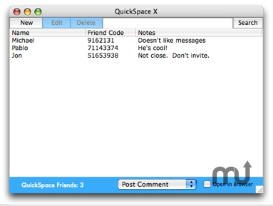 Screenshot 1 for QuickSpace