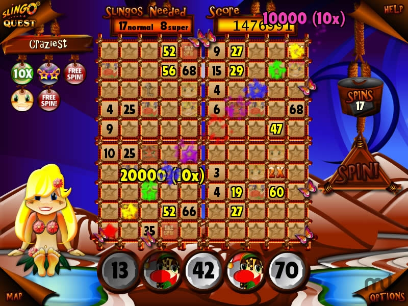 Screenshot 1 for Slingo Quest