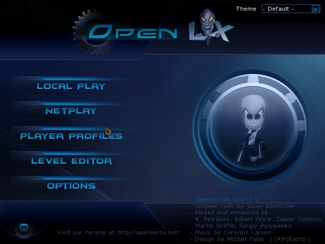 Screenshot 1 for OpenLieroX